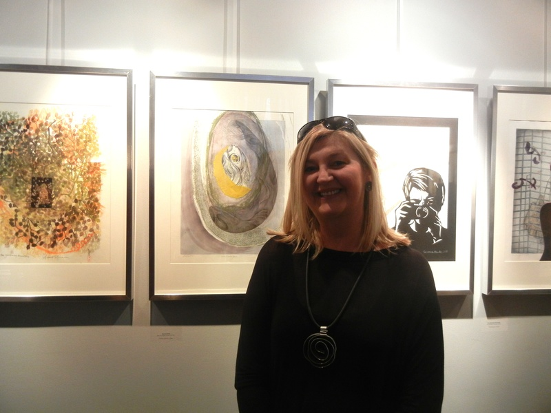 Artist Ania Gilmore and her Artwork