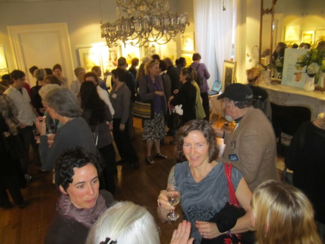 Opening Reception at the French Cultural Center